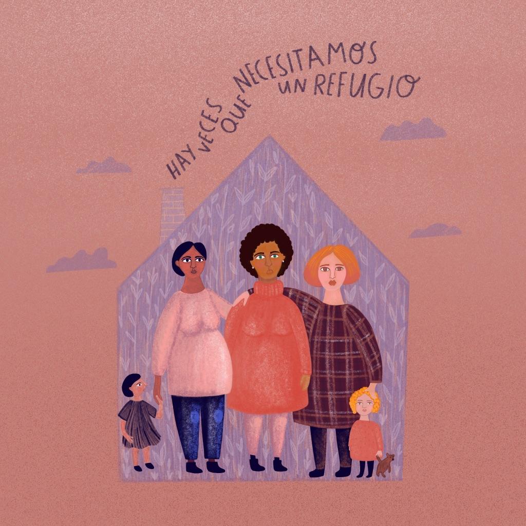 Refugios para mujeres y menores